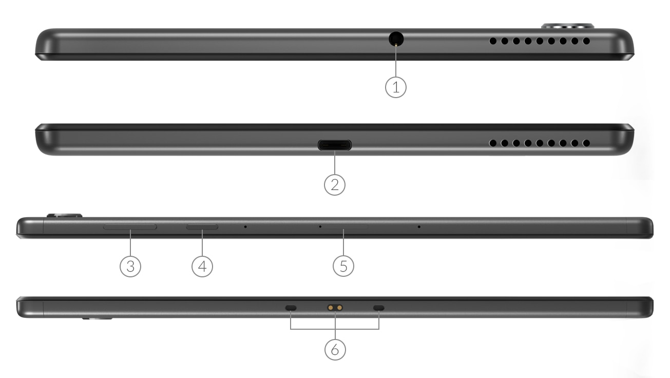 Ports Lenovo Yoga Slim 7 (14, Intel)