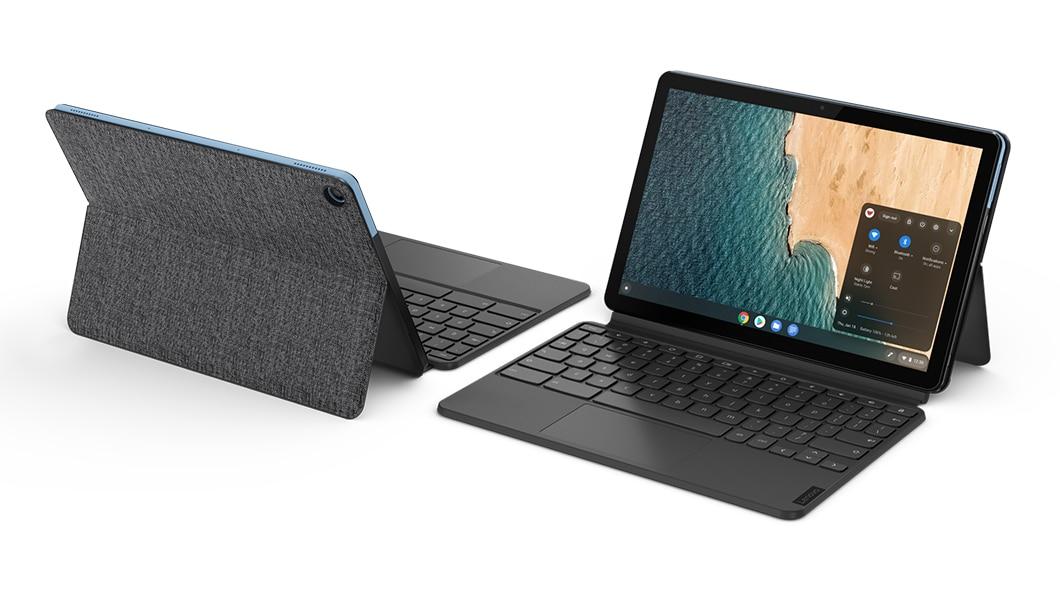 Lenovo Chromebook Duet  Samsung Galaxy Chromebook 2 vs Lenovo Chromebook Duet: Specs lenovo tablet ideapad duet chromebook gallery 1