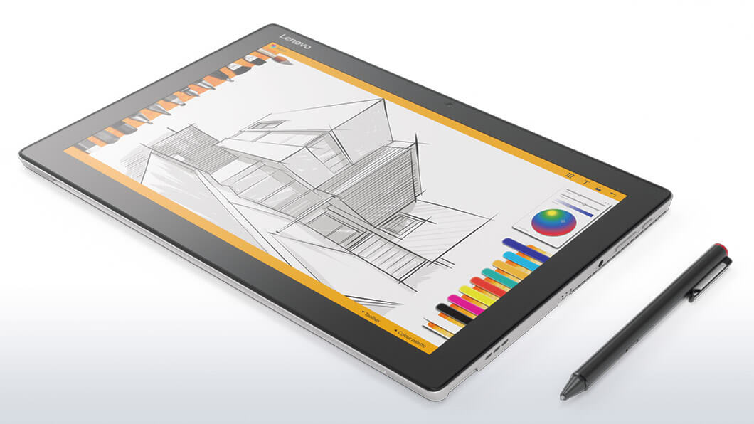 lenovo tablet ideapad miix 510 flat pen 2
