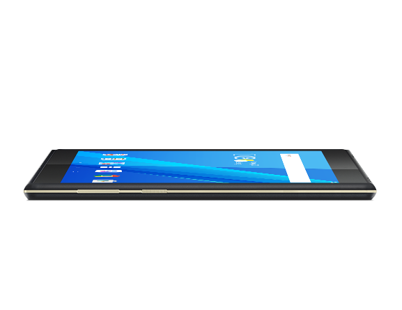 Lenovo Tab M10, side view left