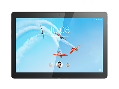 Lenovo Tab M10, front view