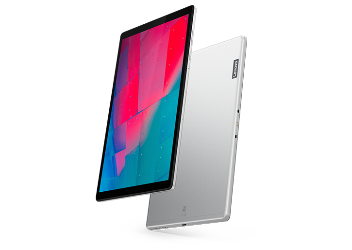Lenovo Tab M10 HD (2nd Gen) front and rear view