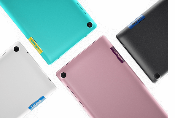 Tab3 7 Tablet's stylish, colorful design