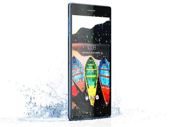 The Splash-Proof Tab3 7 Tablet