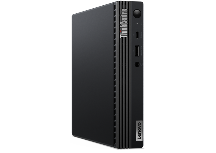 Lenovo ThinkCentre M70q side view