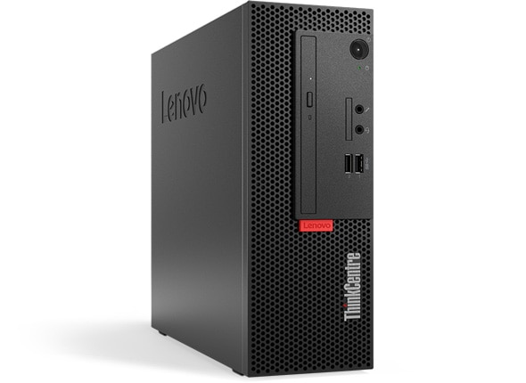 Lenovo ThinkCentre M710e SFF front left side view
