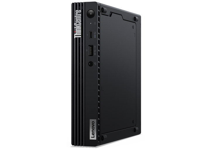 Lenovo ThinkCentre M80q desktop side view