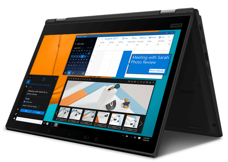 "Lenovo ThinkPad L390 Yoga - 13.3"" Business 2-in-1 Laptop with 12-hour Battery Life"