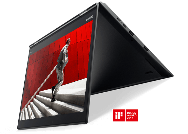 ThinkPad X1 Yoga 2-in-1 Convertible Laptop, Winner of 2016 CES Top Pick, Best in Show, Excellence Award