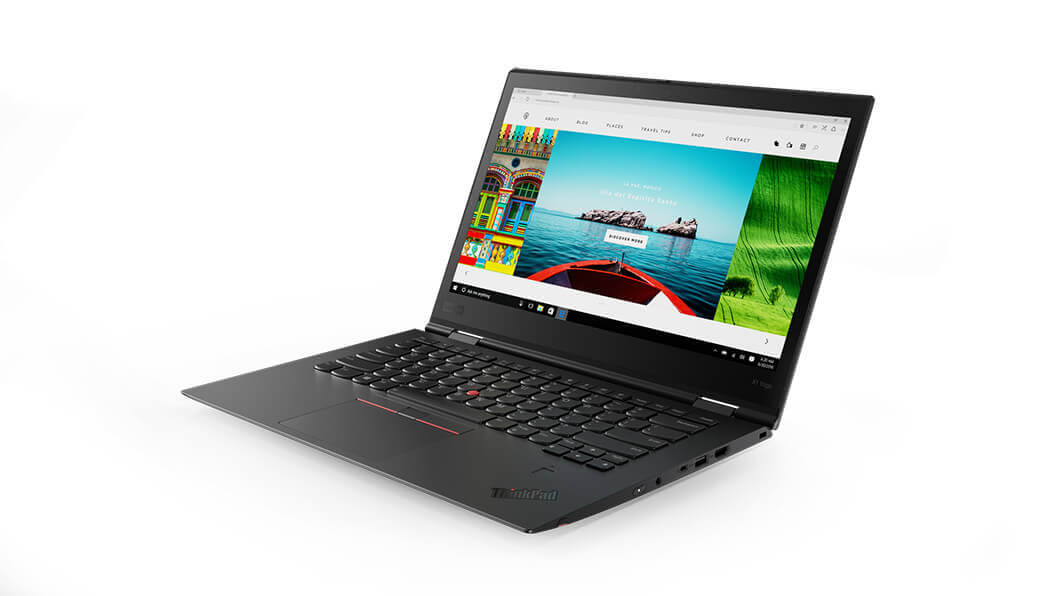Lenovo ThinkPad X1 Yoga 4th Generation, Intel Core i7-8565U (1.80GHz, 8MB), 14.0 in 1920x1080 Multitouch, Windows 10 Pro 64, 8.0GB, 1x256GB SSD PCIe, HD Camera, 3 Year Onsite NBD with Premier Support