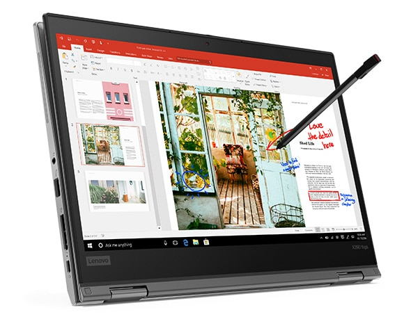 Lenovo ThinkPad X390 Yoga Front Display and Pen