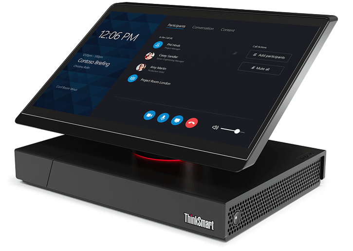Lenovo ThinkStation Hub 500 Skype Room System.