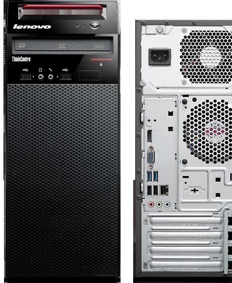 Lenovo ThinkCentre E73 Mini Tower PC 4th Gen Core i3-4130 3 40GHz 8GB 500GB  DVDRW WiFi Windows 10 Professional 64Bit Desktop PC Computer