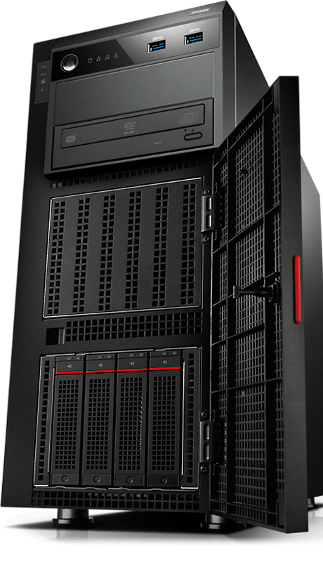 thinkserver ts440 tower server lenovo us