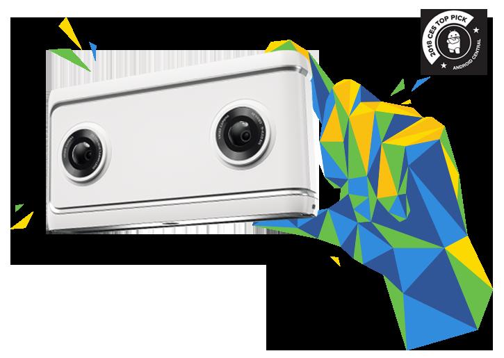 Caméra Lenovo Mirage avec Daydream