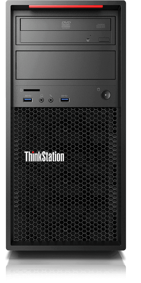 lenovo workstation thinkstation p310 tower front