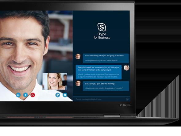 X1 Carbon được cấp chứng chỉ Skype cho công việc