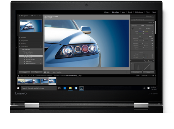 The 2K Display Features Brighter Images & Truer Colors