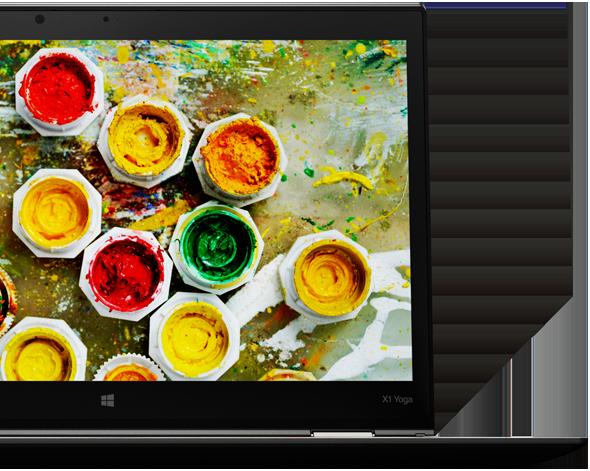 X1 Yoga oferuje wspaniały wyświetlacz 2K