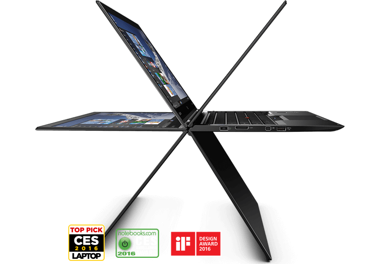 Lenovo ThinkPad X1 Yoga (1st Gen) Part Number:  20FQ005YUS The first ThinkPad to do backflips, handstands, and splits. 6th Generation Intel® Core™ i5-6300U (2.40GHz, up to 3.00GHz, 3MB Cache) Windows 10 Pro 64 8.0 GB LPDDR3 1600MHz 256 GB Solid State ...