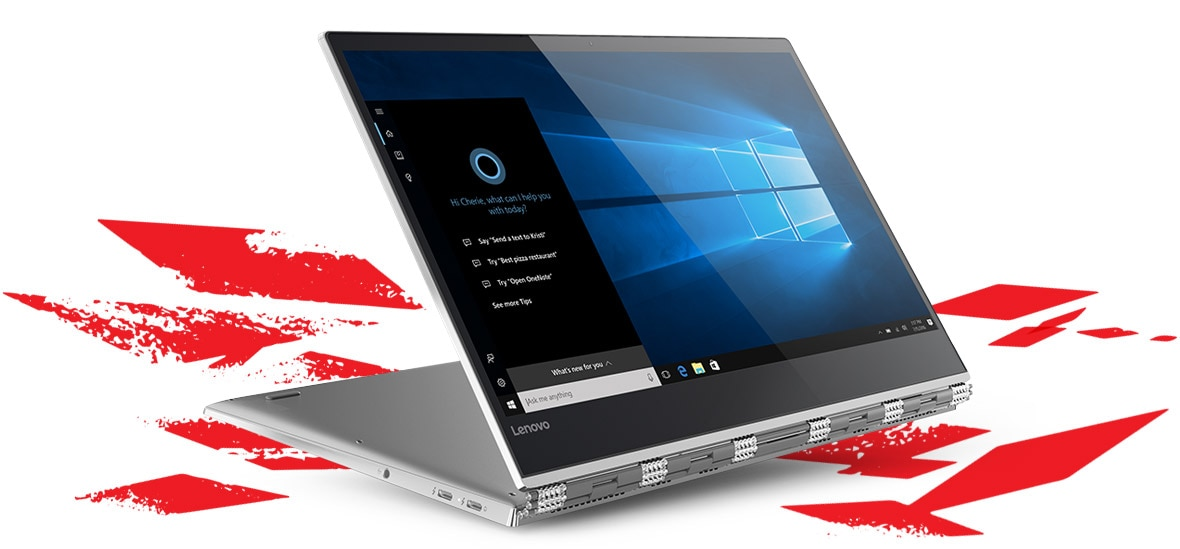 Star Wars Special Edition Yoga 920 2-in-1 laptop in stand mode