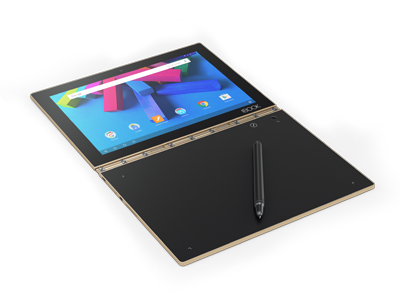 lenovo yoga book android front series