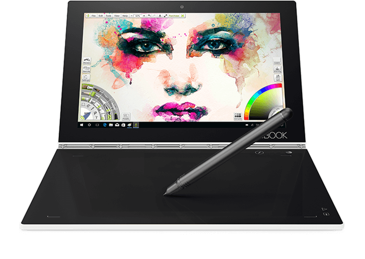 Yoga Book mit Android