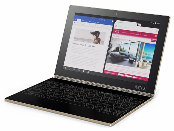 Yoga Book with Android Laptop Mode