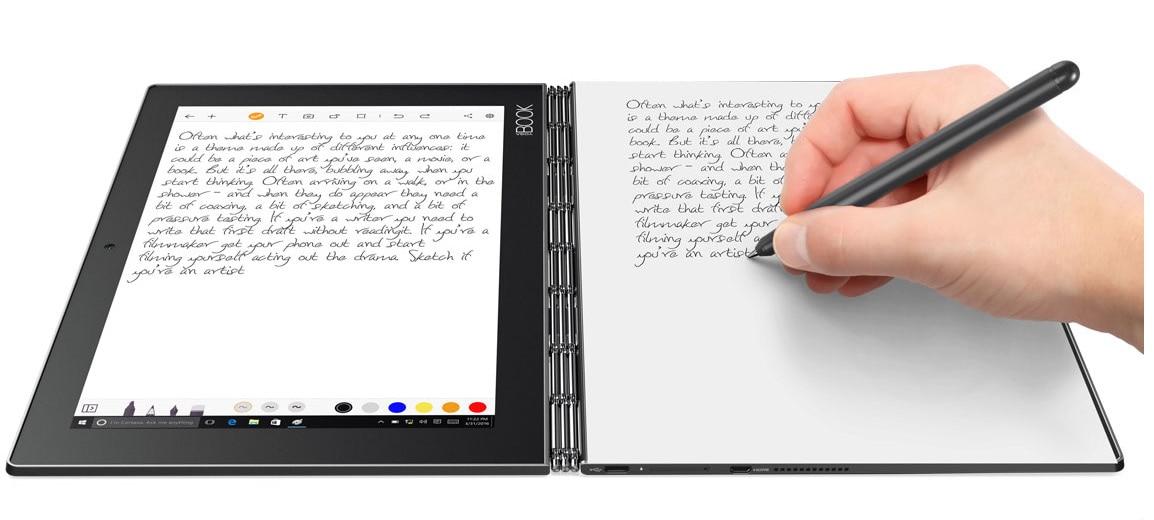 Lenovo Yoga tablet writing