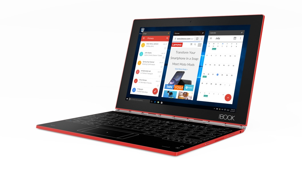 Yoga Book With Windows Productivity 2 In 1 Tablet Lenovo Us