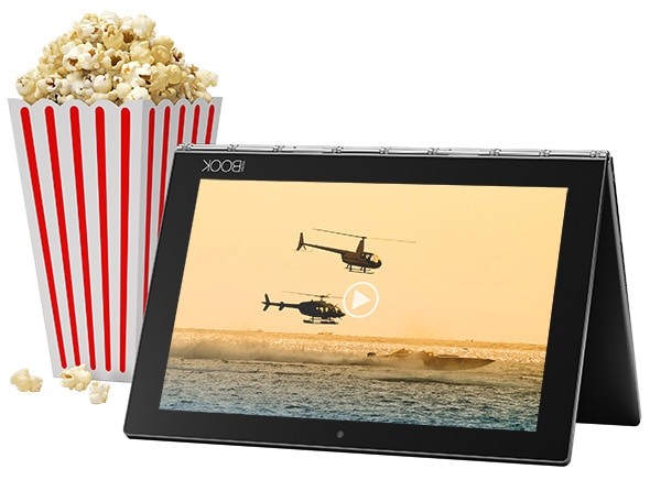 Lenovo Yoga Book Theater Like Media