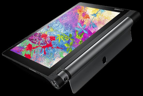 Lenovo Yoga Tab 3 10 in Tilt Mode