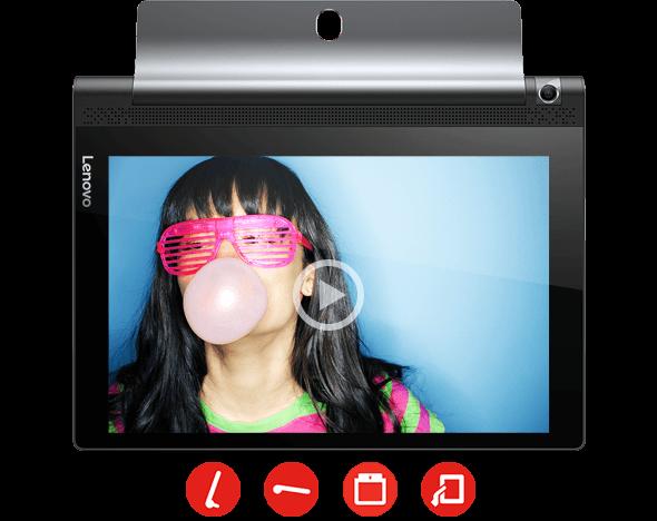 Lenovo Yoga Tab 3 10 Front View