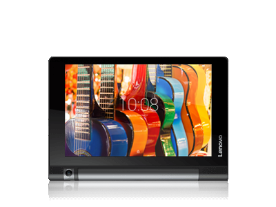 lenovo yoga tablet 3 8 inch front