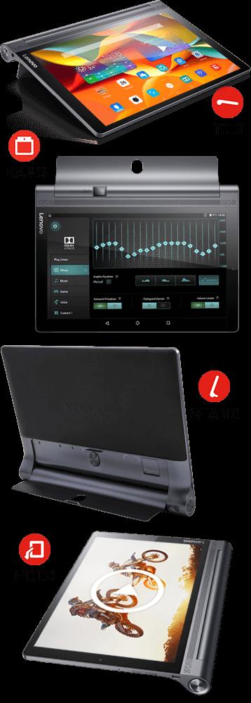 Lenovo Yoga Tablet 3 Pro Modes