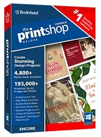 The Print Shop Deluxe 6.0 (Electronic Download)