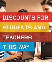 Discounts for Students and Teachers