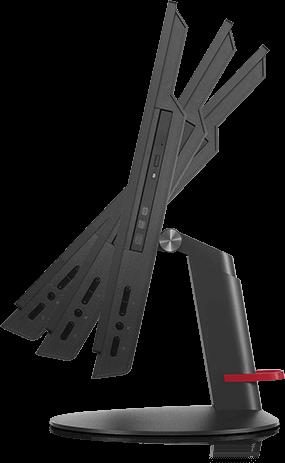 * En la imagen se muestra el equipo M700z con el soporte monitor Stand Full Function. El soporte de la familia M700z varía según el modelo, verifique cual soporte viene incluido con el equipo en las e