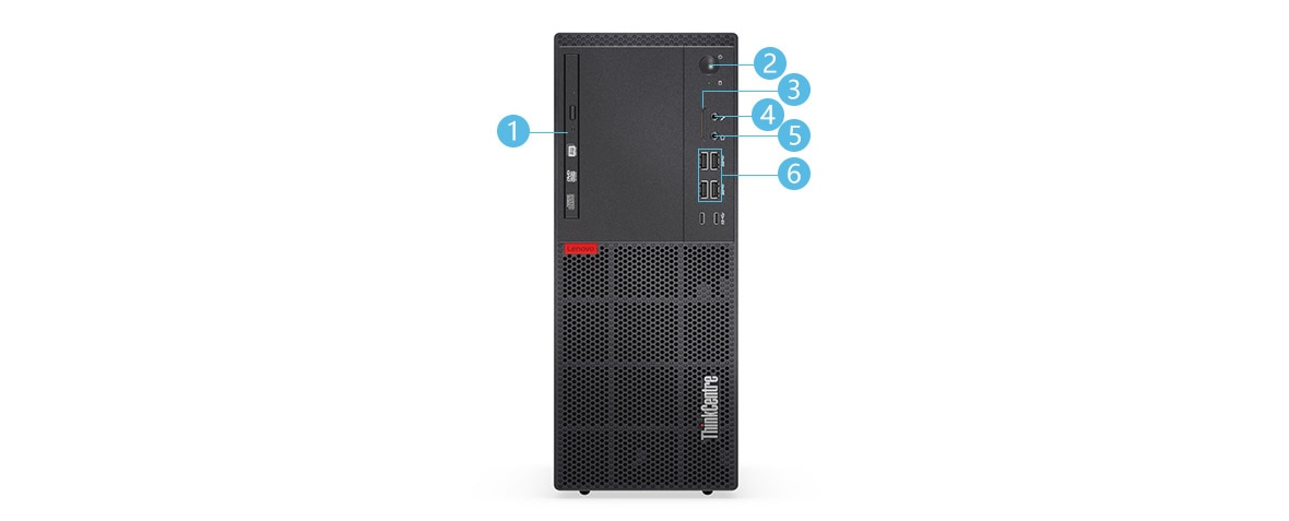 ThinkCentre M710t Mini-Tower 正面