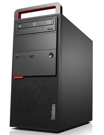 Lenovo ThinkCentre M800 Tower Desktop front right side view