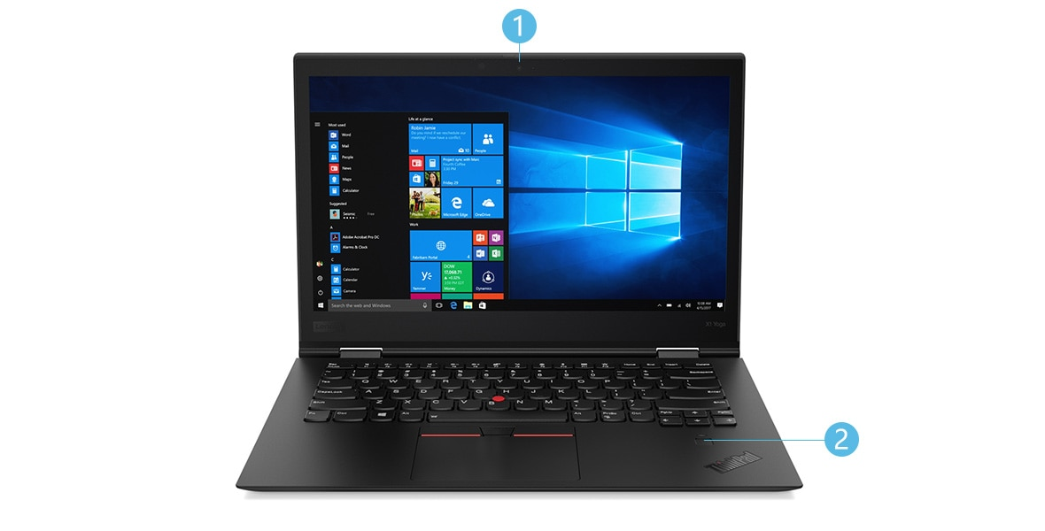 ThinkPad X1 Yoga Front