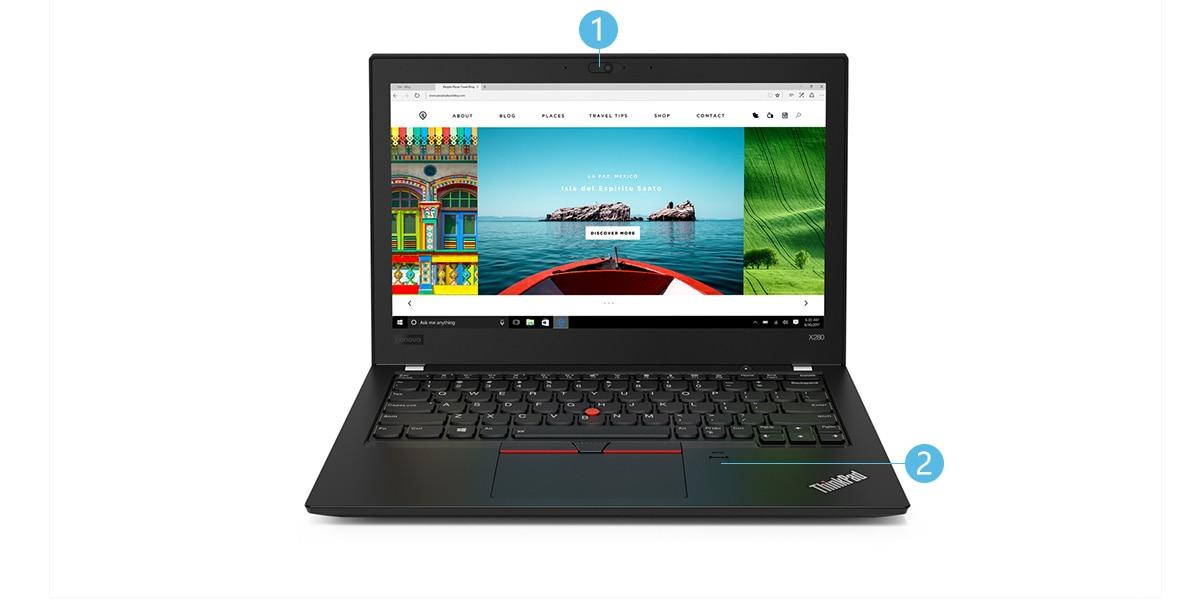 ThinkPad X280 正面