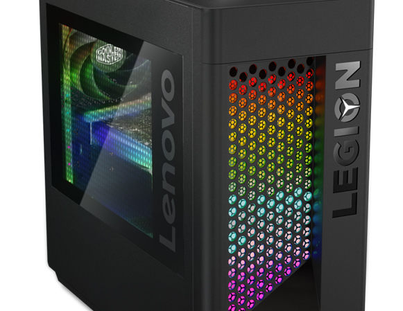 Lenovo Legion T530 gaming tower, ¾ front view