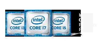 Logo de la famille Intel Core de 8<sup1>e</sup> génération
