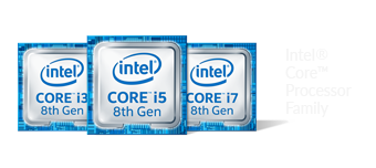Intel core i3 i5 i7 8th gen logo