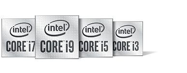 Intel Family 10th Gen Processor Badge
