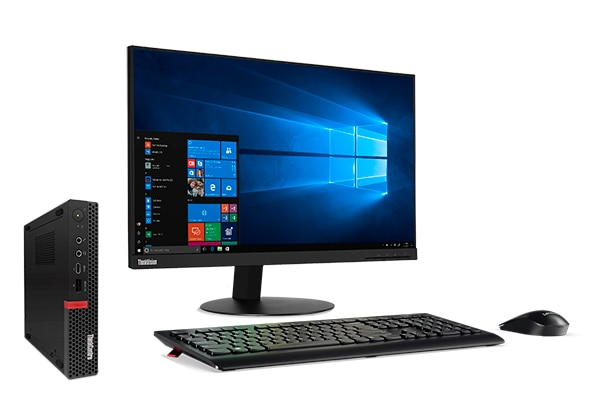 ThinkCentre M720 Tiny: It won't clutter up your desk