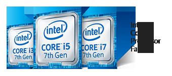 Intel Core i3i5i7 de 7<sup>e</sup> génération
