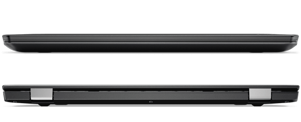 Lenovo ThinkPad 13 Front and Back Views Closed