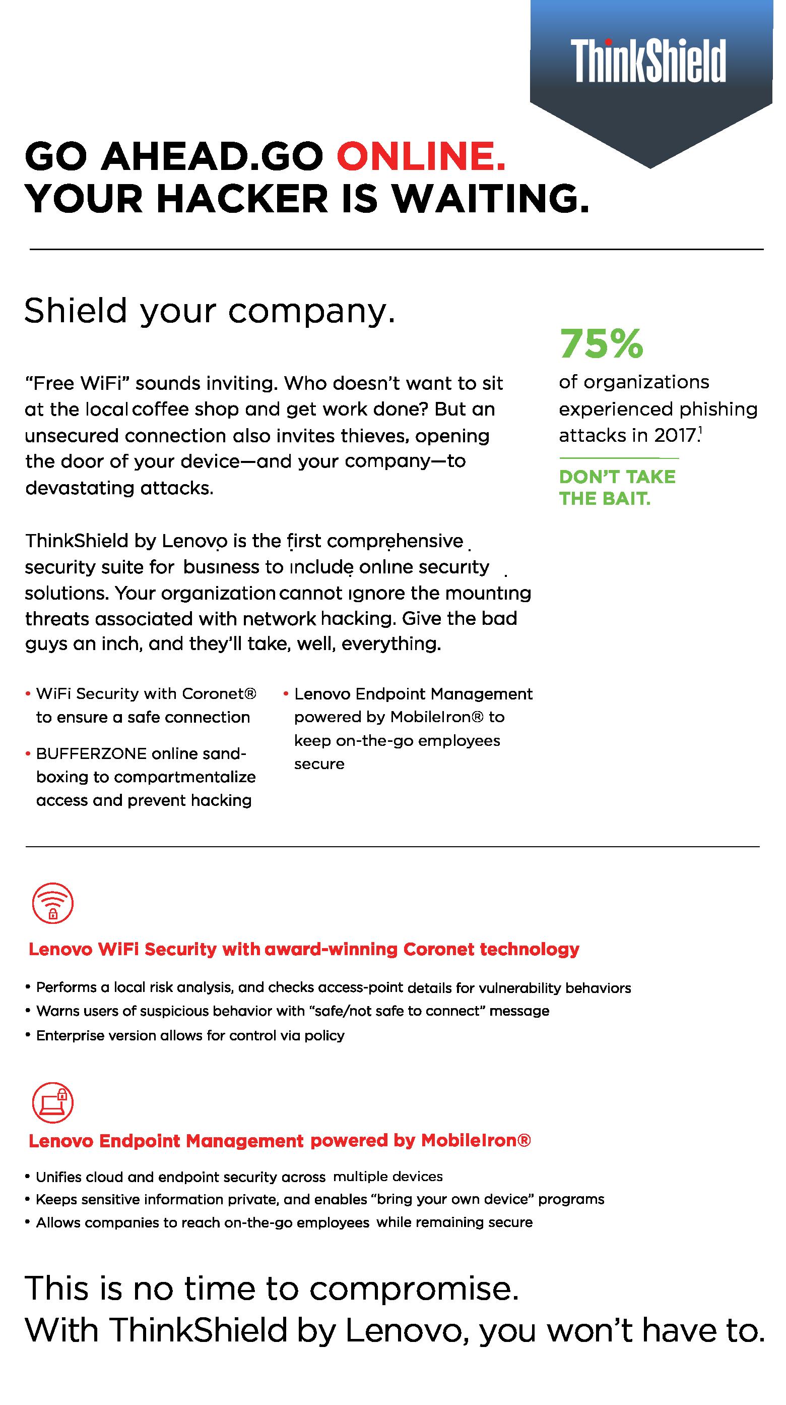 ThinkShield: Wifi Security With Bufferzone, Coronet
